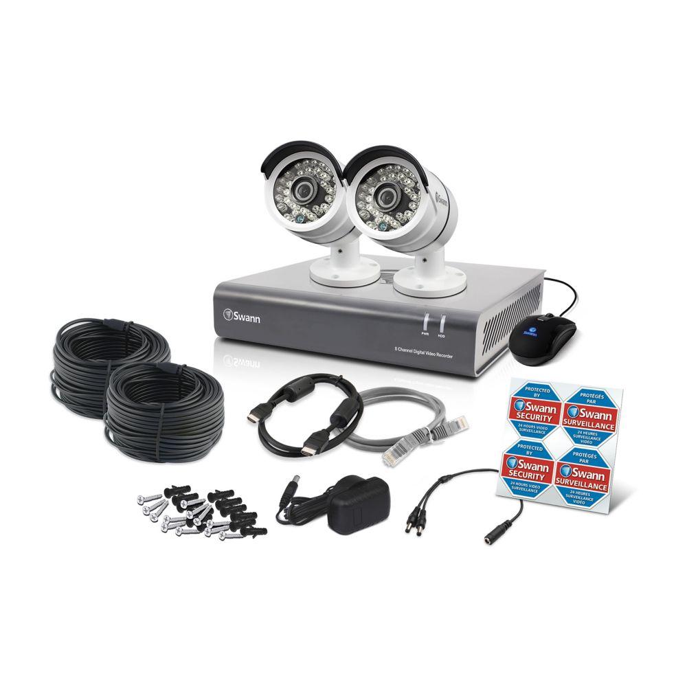 4 Channel DVR & 2 x PRO-A855 Cameras