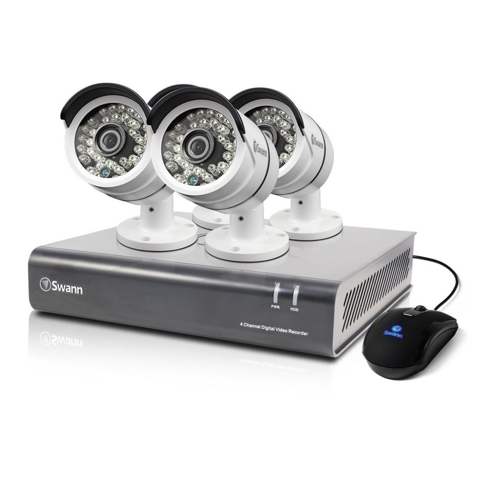 4 Channel DVR & 4 x PRO-A855 Cameras