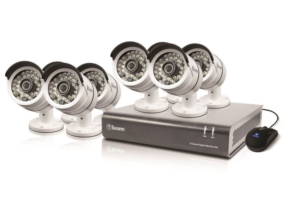 8 Channel DVR & 8 x PRO-A855 Cameras