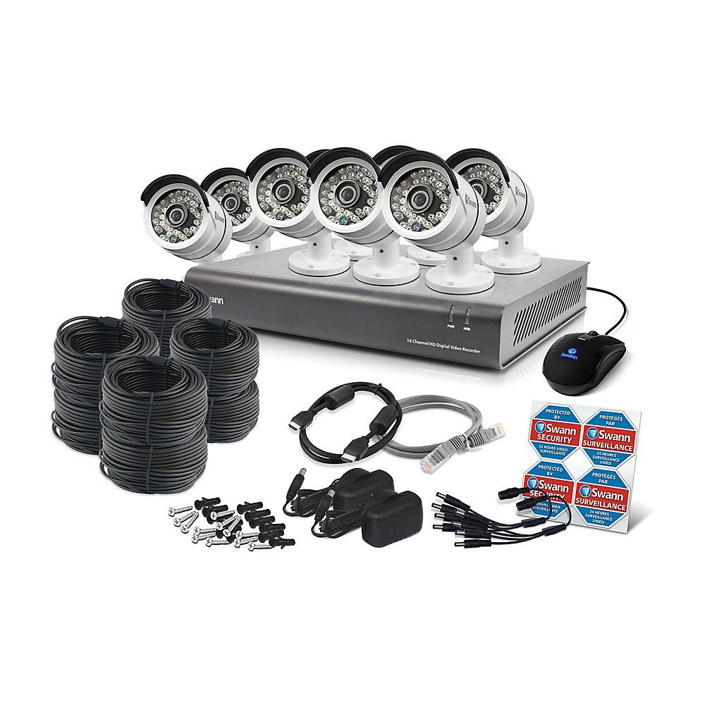 DVR 1080 p à 16 canaux et 8 caméras PRO-A855