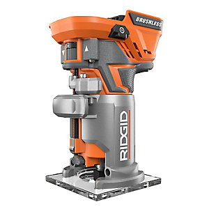 Ridgid 18 volt brushless compact router the home depot canada 18 volt brushless compact router greentooth Choice Image