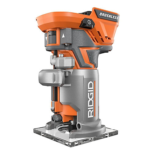 GEN5X 18V Cordless Brushless Compact Router (Tool Only) with Tool Free Depth Adjustment