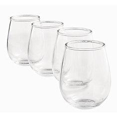 Tritan Wine Stemless (4-Pack)