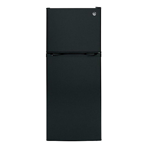 24-inch W 11.55 cu. ft. Top Freezer Refrigerator in Black - ENERGY STAR®