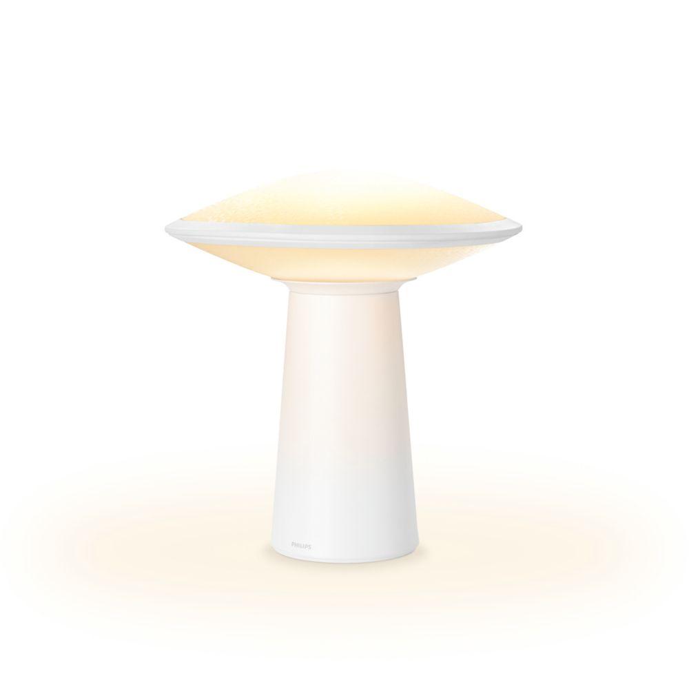 Philips Hue Phoenix Table Lamp, Opal White