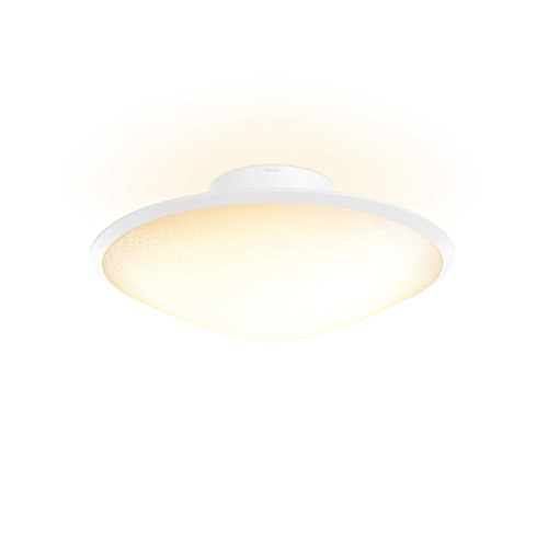 Hue Phoenix Ceiling Light, Opal White