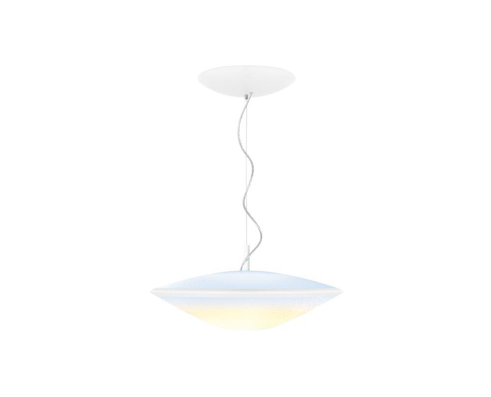Hue Phoenix Pendant Light, Opal White