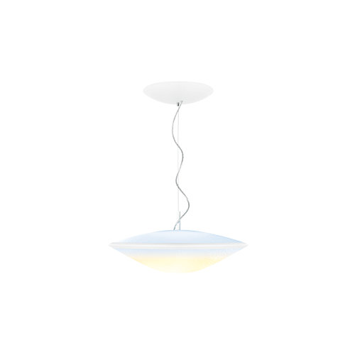 Hue Phoenix Pendant Light, Opal White