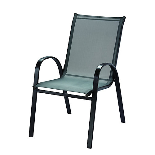 Chaise empilable en toile