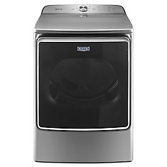 9.2 cu. ft. High Efficiency Top Load Electric Dryer in Chrome Shadow - ENERGY STAR®