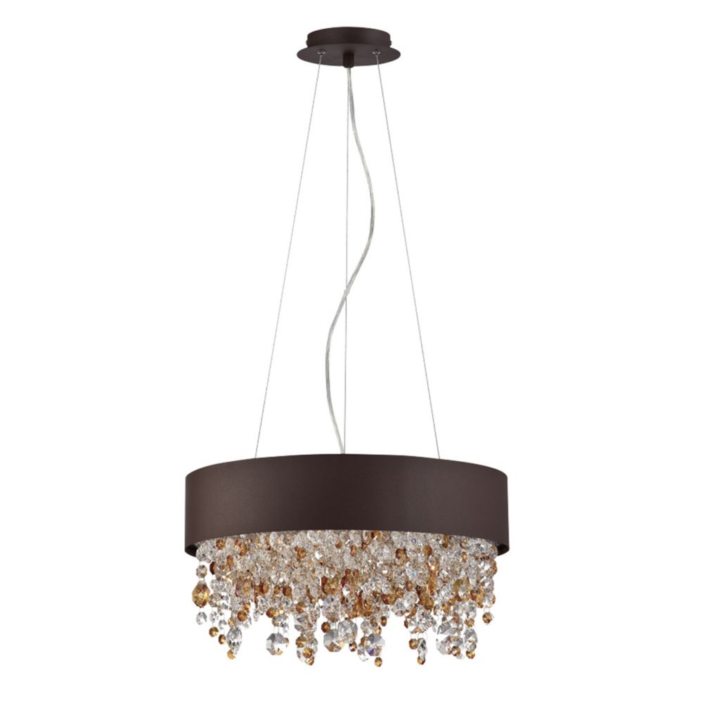 Romanelli Collection, 4-Light Bronze Chandelier
