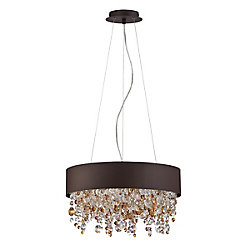 Eurofase Romanelli Collection, 4-Light Bronze Chandelier