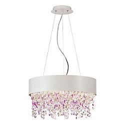 Eurofase Romanelli Collection, 4-Light White Chandelier