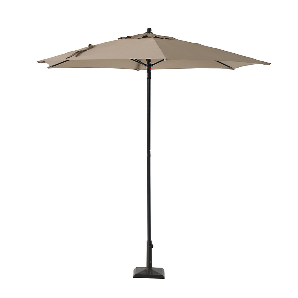 7 5 ft  Market Umbrella in Tan
