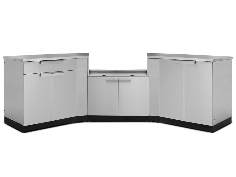outdoor kitchen cabinets storage the home depot canada. Black Bedroom Furniture Sets. Home Design Ideas