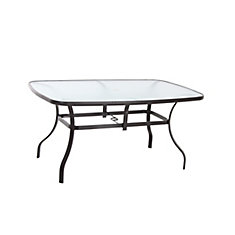60-inch x 38-inch Patio Dining Table