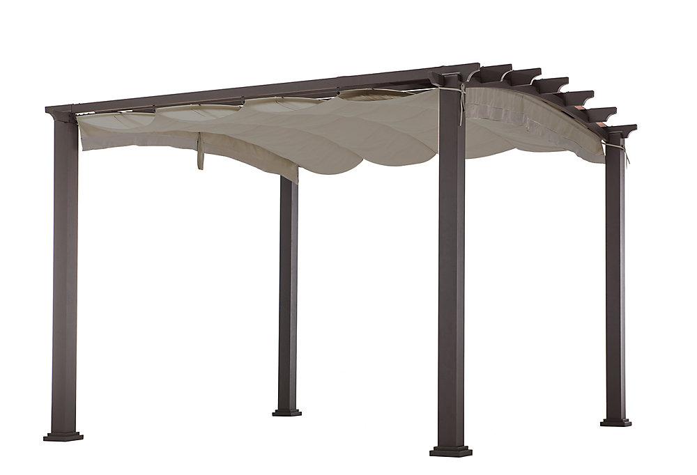 10 ft. x 10 ft. Arched Pergola