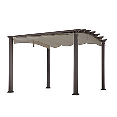 10 ft. x 10 ft. Arched Pergola