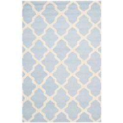 Safavieh Cambridge Giselle Light Blue / Ivory 5 ft. x 8 ft. Indoor Area Rug