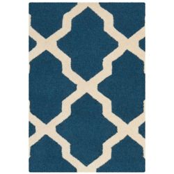 Safavieh Carpette, 2 pi x 3 pi, rectangulaire, bleu Cambridge