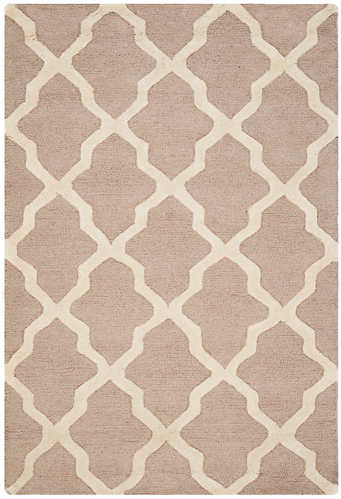 Carpette, 4 pi x 6 pi, rectangulaire, havane Cambridge