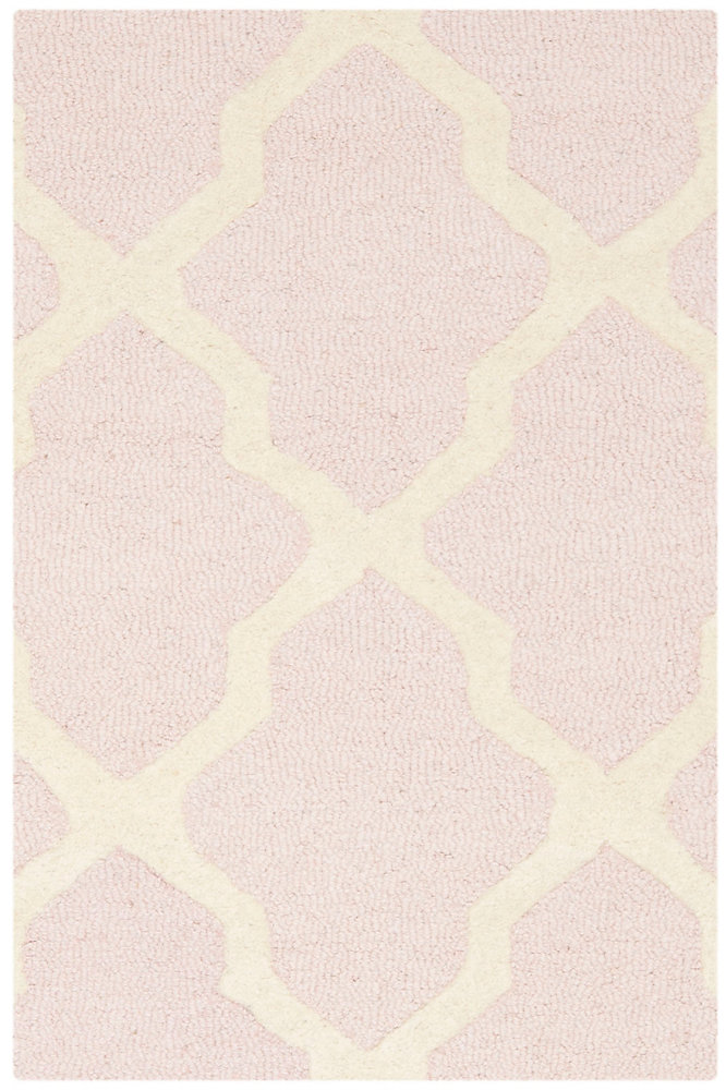 Cambridge Giselle Light Pink / Ivory 3 ft. x 5 ft. Indoor Area Rug