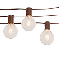Clear Café String Lights
