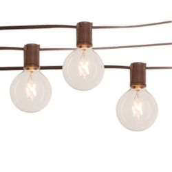 Hampton Bay Clear Café String Lights