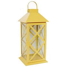 Large Metal Lantern-Daffodil