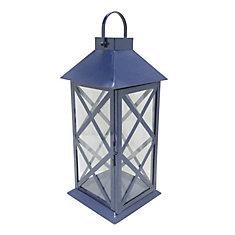 Large Metal Lantern-Midnight