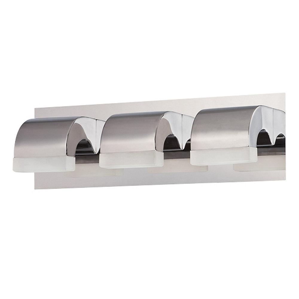 Newport Collection, 3-Light LED Chrome Bathbar