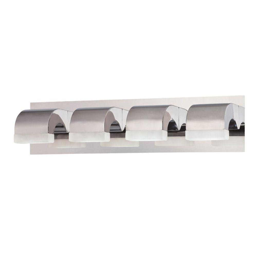 Newport Collection, 4-Light LED Chrome Bathbar