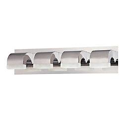 Newport Collection, 4-Light LED Chrome Bath Bar