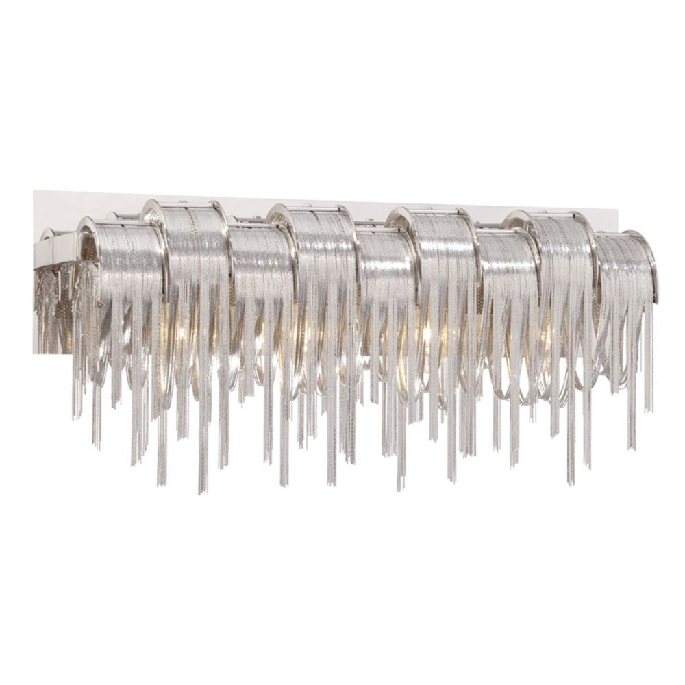 Avenue Collection, 4-Light Satin Nickel Bathbar