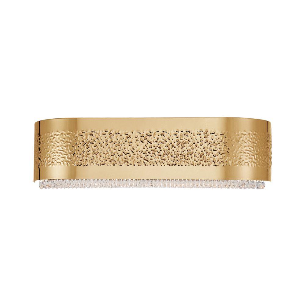 Cara Collection, 4-Light Gold Bathbar