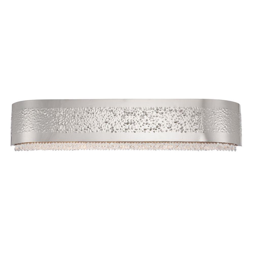 Cara Collection, 5-Light Satin Nickel Bathbar