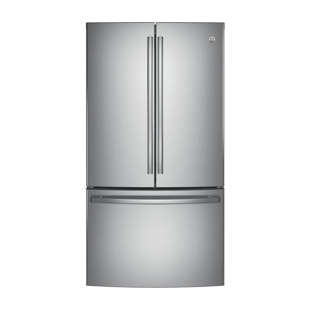 GE 36-inch W 28.5 cu. ft. French Door Refrigerator in Stainless Steel - ENERGY STAR®