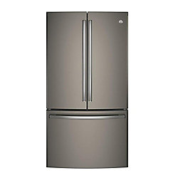 36-inch W 28.5 cu. ft. French Door Refrigerator in Slate, ENERGY STAR®