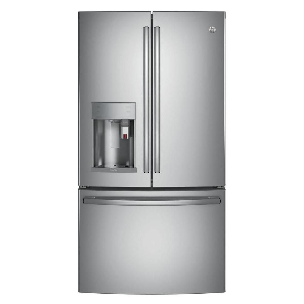 27.7 Cu. Feet French Door Refrigerator with Keurig K-Cup Brewing System