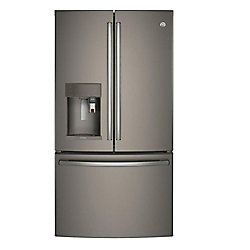 27.7 Cu. ft. French Door Refrigerator with Keurig K-Cup Brewing System in Slate, ENERGY STAR®