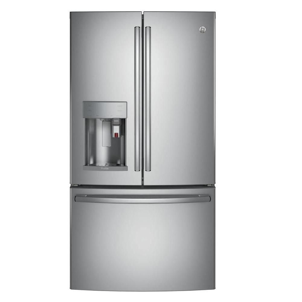 22.1 Cu. Feet French Door Refrigerator with Keurig K-Cup Brewing System