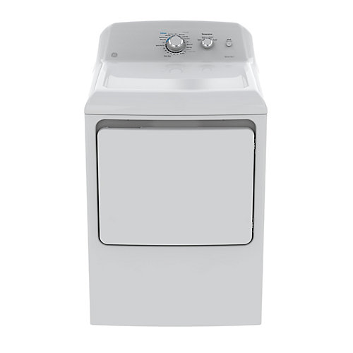 7.2 cu. ft. Top Load Electric Dryer in White
