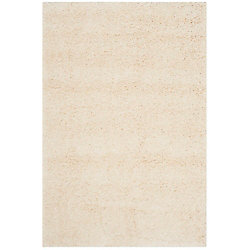 Safavieh Shag Felicia Ivory 4 ft. x 6 ft. Indoor Area Rug