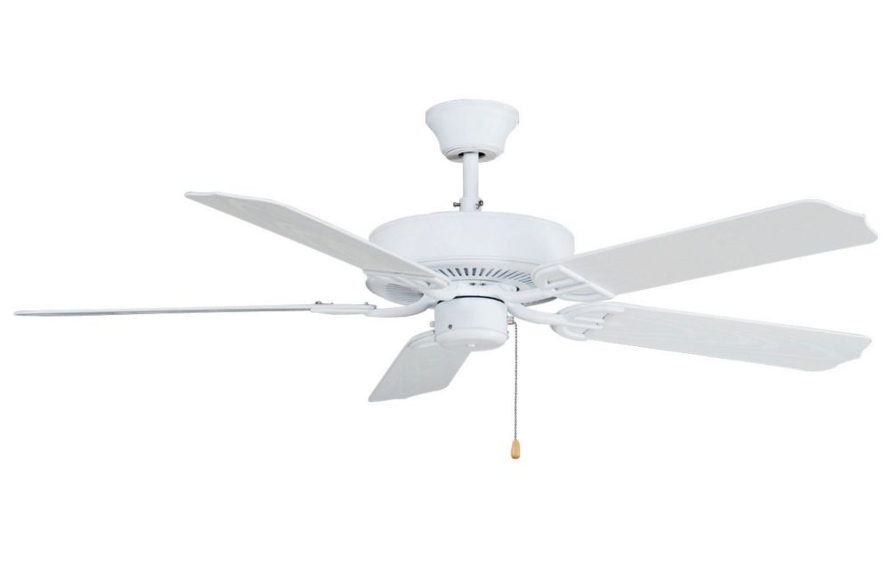 FANIMATION Aire Dcor 52 Inch 5-Blade Indoor Matte White