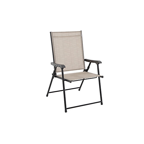 Steel Patio Sling Folding Chair