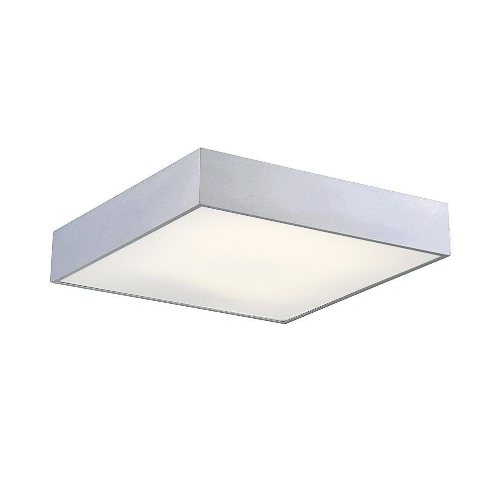 Mac Collection, 1-Light Square LED Aluminum Flushmount