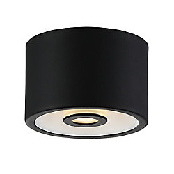 Vision Collection, 1-Light LED Black Surface Mount