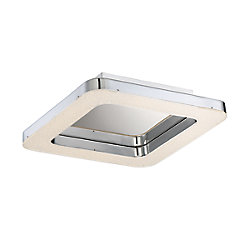 Zatina Collection, 1-Light Large LED Chrome Flushmount