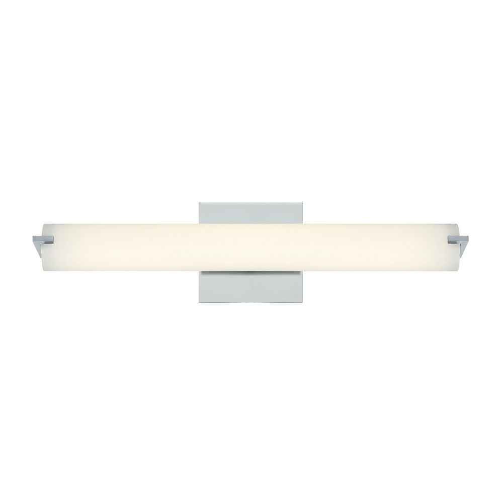 Zuma Collection, 1-Light Medium LED Chrome Wall Sconce