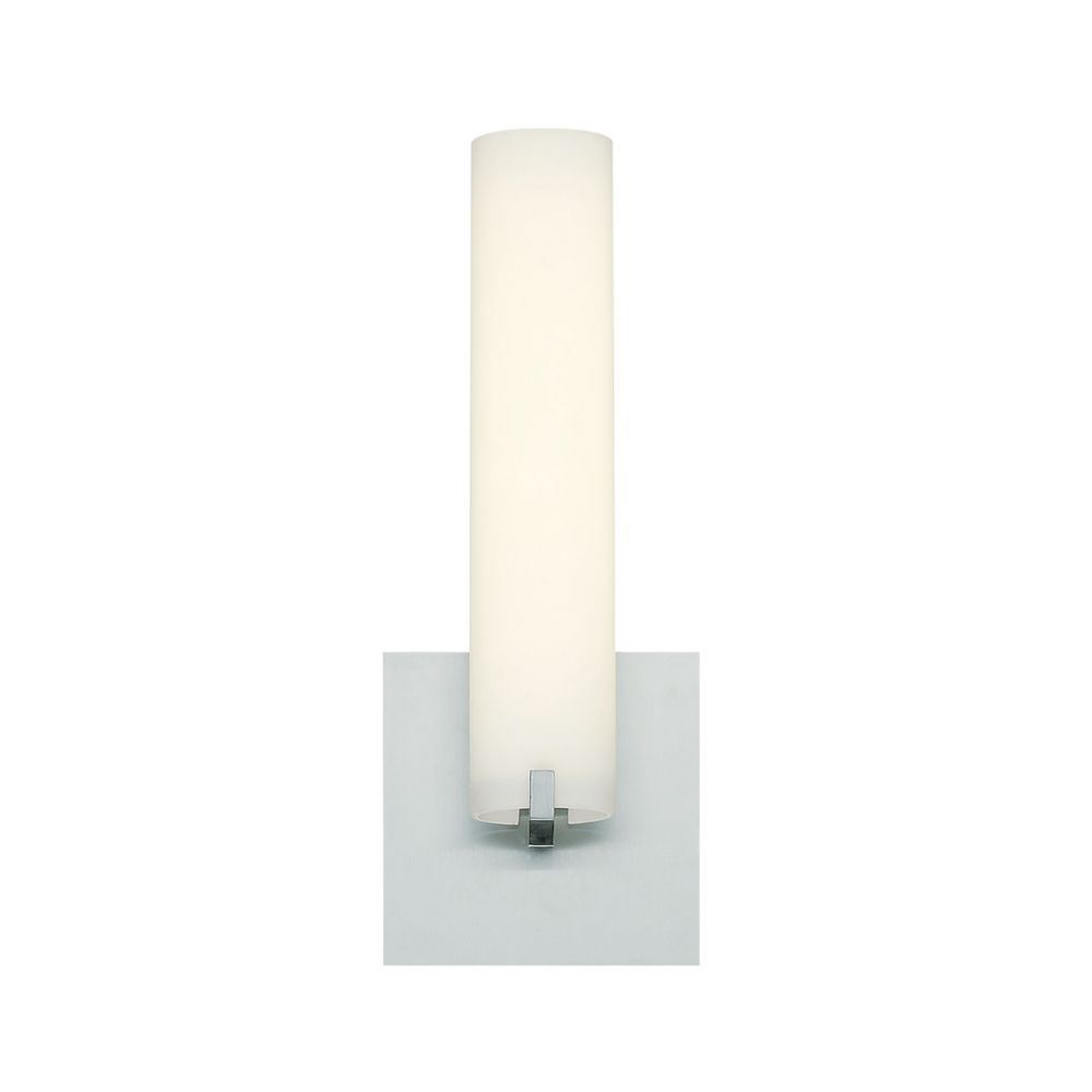 Zuma Collection, 1-Light Small LED Satin Nickel Wall Sconce
